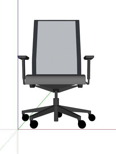现代办公椅座椅素材设计su模型