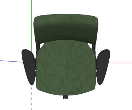 现代风格办公椅座椅素材su模型