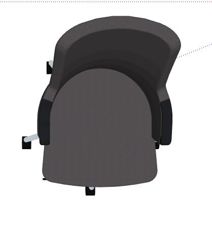 简约转椅座椅设计su模型