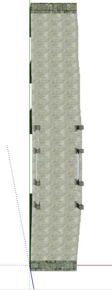 景观平桥石桥景观桥设计su模型