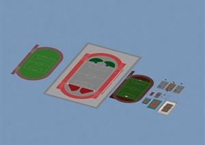 球场设计3d模型