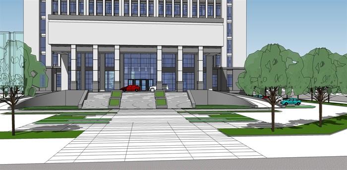事业单位办公楼(2)