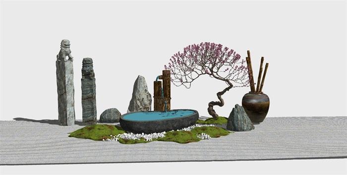 党建纪念馆荣誉展厅展馆活动室3D模型设计(1)