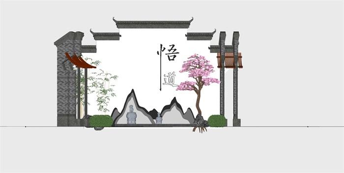 党建纪念馆荣誉展厅展馆活动室3D模型设计(3)