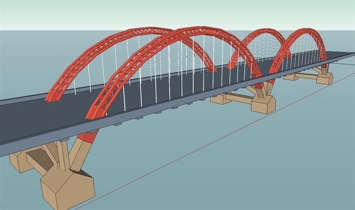 15座园林景观桥方案素材设计su模型[原创]