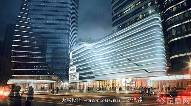 天霸设计盘点购物中心设计效果图精彩外立面设计方案-苏州丰隆汇HLCC mall7