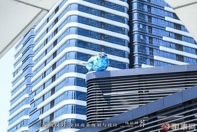 天霸设计盘点购物中心设计效果图精彩外立面设计方案-苏州丰隆汇HLCC mall12
