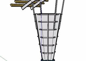多种户外灯具素材SU(草图大师)模型
