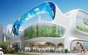 城市综合体设计效果图-天霸设计公司推荐