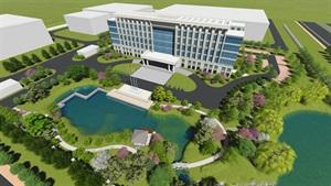 湖州迅鼎项目综合楼景观设计