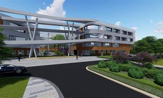 湖州生物医药园厂区景观设计