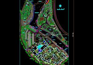 生态旅游度假休闲山庄别墅住宅群规划CAD