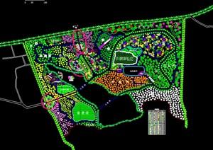 生态农业种植园度假旅游体验休闲综合体CAD