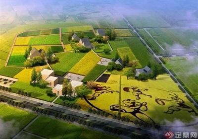 某蔬香環線特色小鎮規劃設計方案