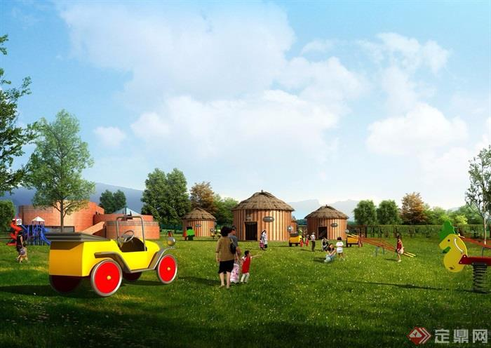 某蔬香环线特色小镇规划设计方案