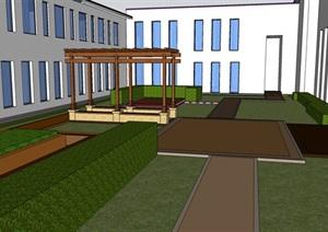 某现代卫生院景观设计