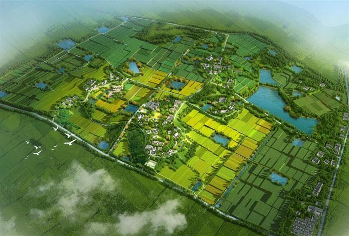 田园综合体_10套农业生态乡村旅游度假康养小镇田园综合体案例