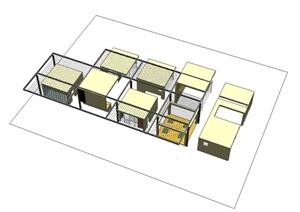 建筑學專業立體構成作業模型