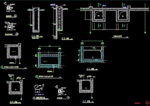 地下室人防建筑節點施工圖