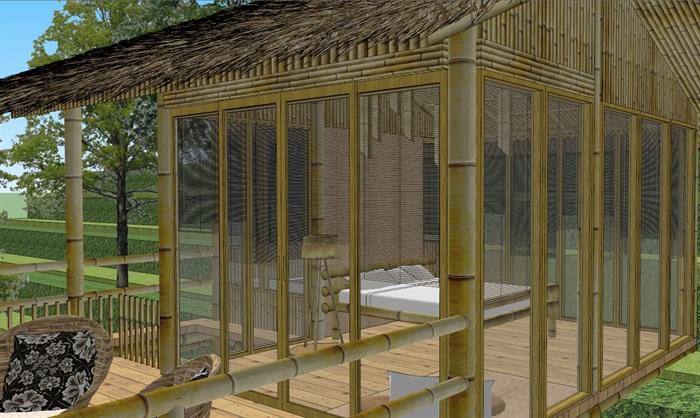 竹屋步骤设计图
