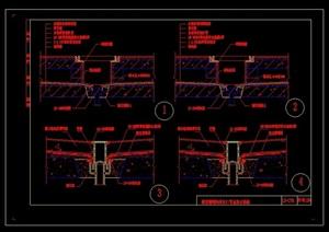 厨厕室内装饰设计cad施工图