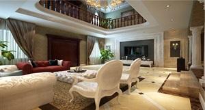 【西安龍發裝飾公司】別墅設計800㎡歐式新古典|裝修效果圖