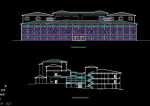 欧式风格旅馆建筑设计方案