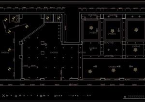 酒店详细室内设计cad施工图