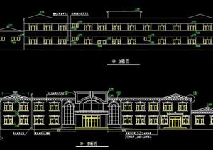 二层药浴中心建筑设计施工图