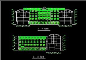 欧式星光酒店cad方案图