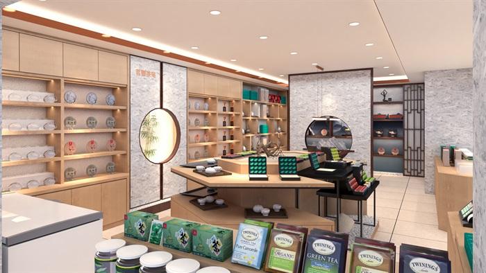 茶店设计(9)