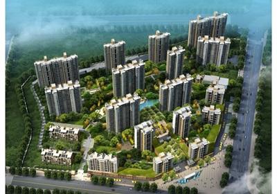 某現代住宅小區建筑及景觀設計方案文本
