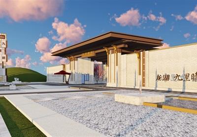 大師設計-頂豪住宅示范區全套cad施工圖及SU模型