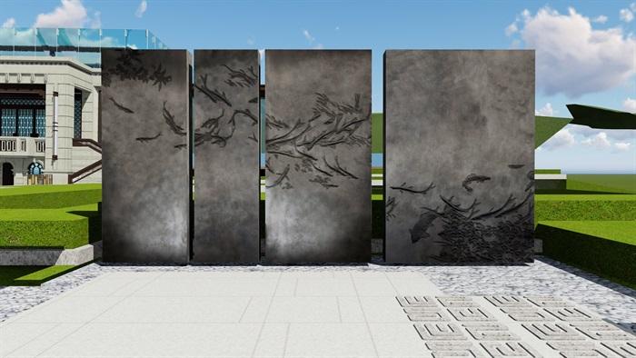 大师设计-顶豪示范区全套施工图+SU模型-龙湖品质-超高端项目(6)