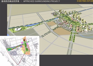 大厂3平方公里项目概念规划ppt方案