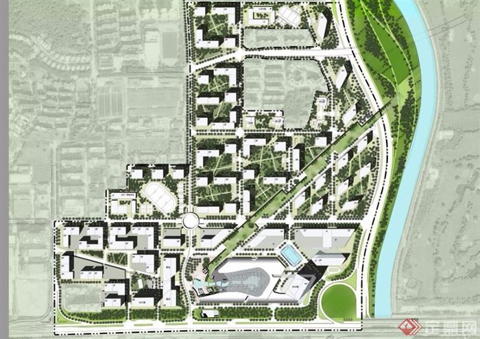 某大沖舊城改造城市綜合體規劃設計pdf方案[原創]