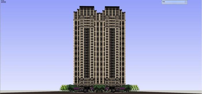 新古典高层住宅su高层(1)