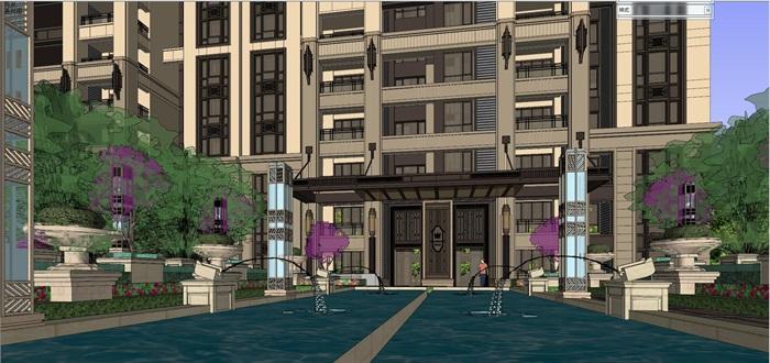 新古典高层住宅su高层(3)