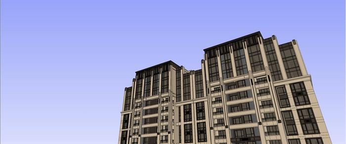 新古典高层住宅su高层(4)