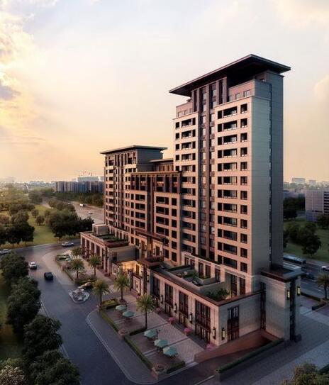 新亚洲风格住宅精细su模型全(4)