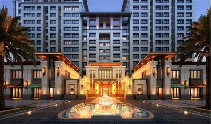新亚洲风格住宅精细su模型全(2)