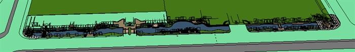 城市河道景观欧式风格带(1)