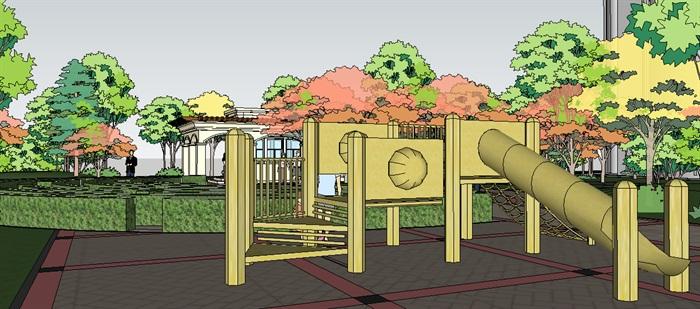 山明水清西段组团景观设计(2)