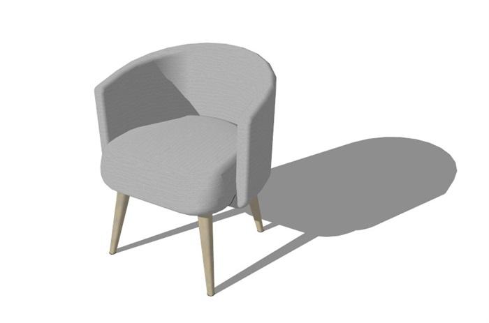 北欧家具精选40套su模型(6)