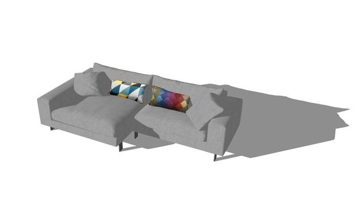 北欧家具精选40套su模型(10)
