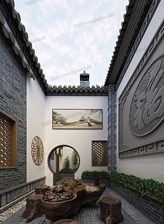 中式庭院[模型ID:163694](1)