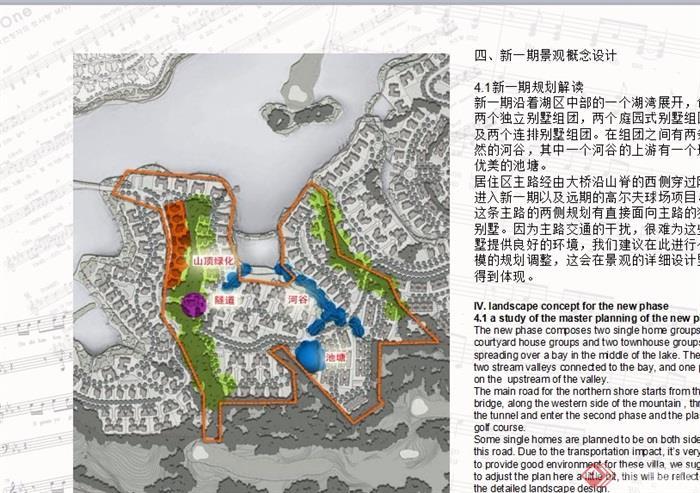某详细的别墅区景观设计ppt别墅[原创]岭大连开发区墅方案图片