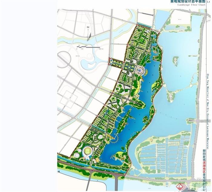 某現代風格濱水城市景觀規劃設計jpg方案[原創]