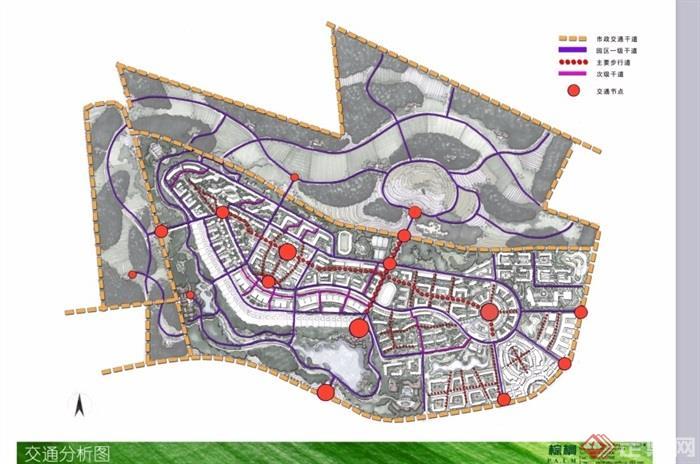 某京南小镇景观设计ppt方案[原创]图片