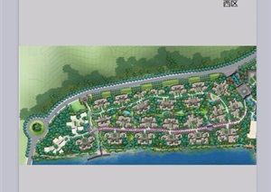 某淀浦河水系城市景观总体规划设计jpg方案